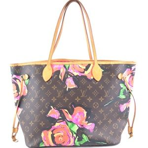 Neverfull Multicolor Monogram Canvas Shoulder Bag